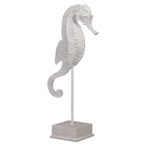 Woodland Imports Seahorse on Stand Figurine