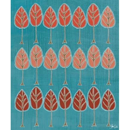 Harvest Tree Design III Poster Print by Shanni Welsh