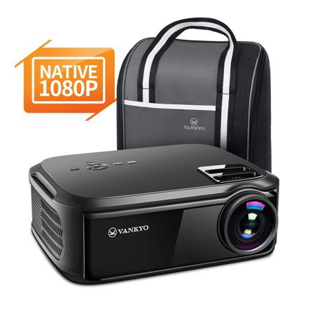 "VANKYO Performance V620 Native 1080P Projector, with 200"" Display 50,000 Hours LED, Compatible with TV Stick, HDMI, X-Box, Laptop, iPhone Android for Business Presentation"