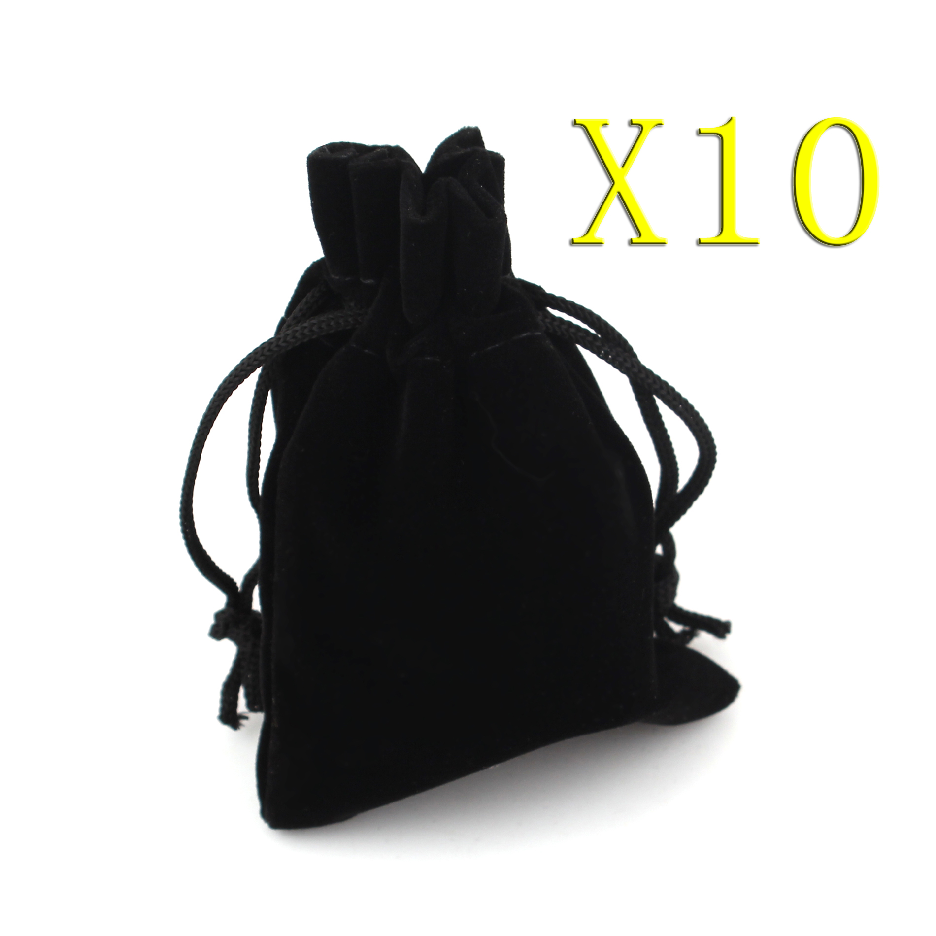 Velvet Jewellery Drawstring Gift Bag Pouches, 10pcs Jewelry Bags, 9x12cm