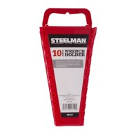 STEELMAN 55319 Universal 10-Tool Wrench Holder, Red