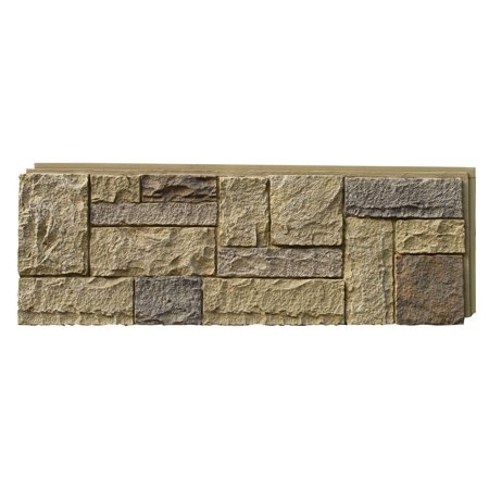 NextStone™ Faux Polyurethane Stone Siding Panel - Castle Rock Windsor (Stone Veneer Siding)