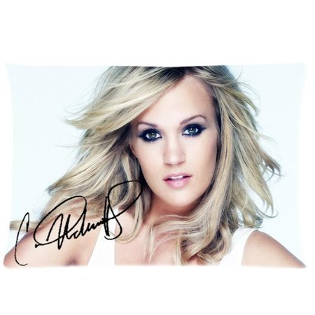 DEYOU Singer Carrie Underwood Pillowcase Pillow Case Cover Two Sides Printing Size 20x30 inch