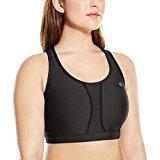women's champion qb6632 plus size vented compression sports bra