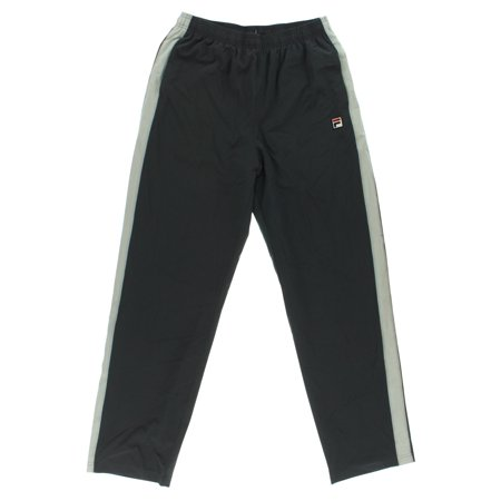 Fila Mens Baseline Pants Dark Grey
