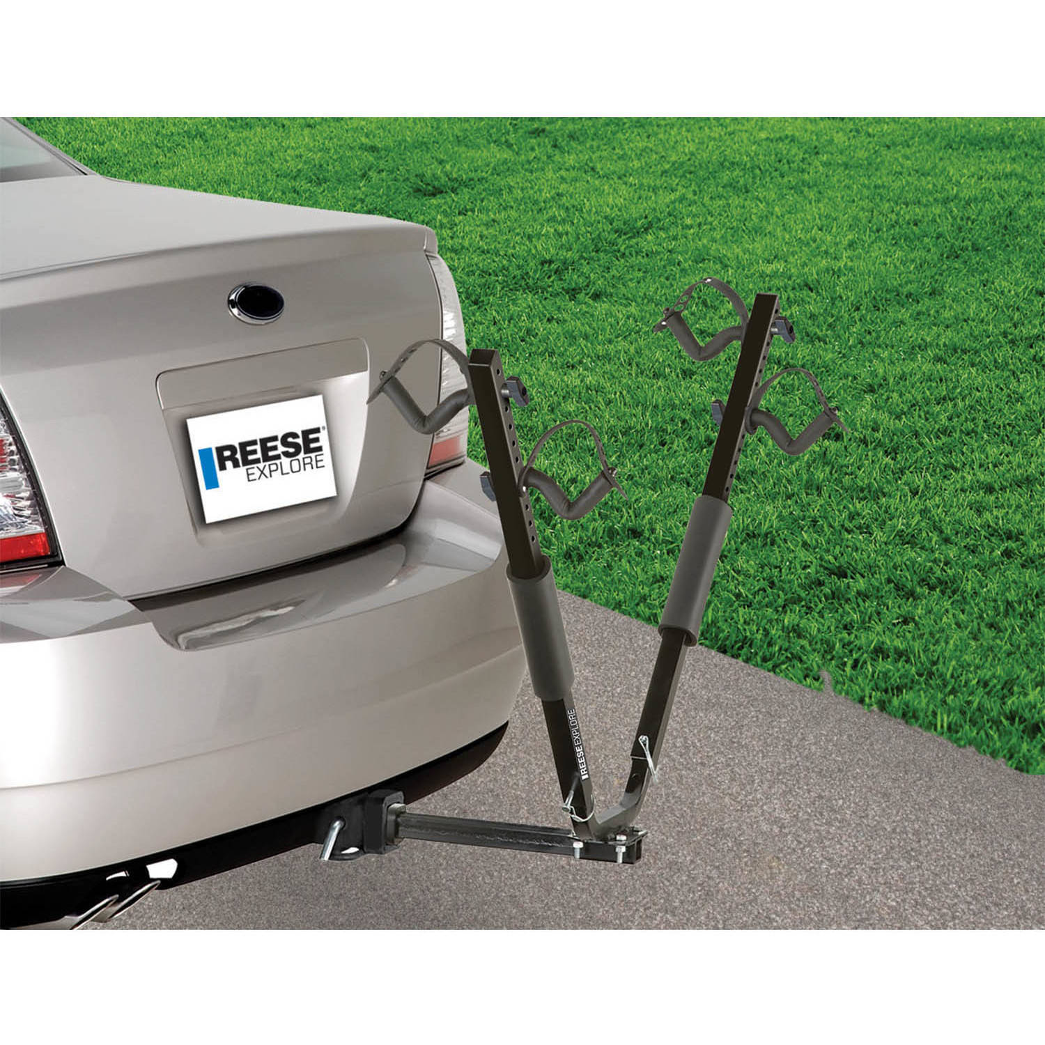 Reese Carry Power SportWing Hitch Mount Bike Carrier 2 Bikes