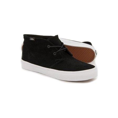 Vans Unisex Chukka Slim Mid Sneakers blktruwht M3.5 W5
