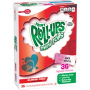 Valentine's Fruit Roll-Ups Mini Rolls, Wildberry Punch, 36 ct, 0.4 oz