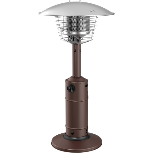 High Quality Mainstays Rotary Table Top Patio Heater, Bronze