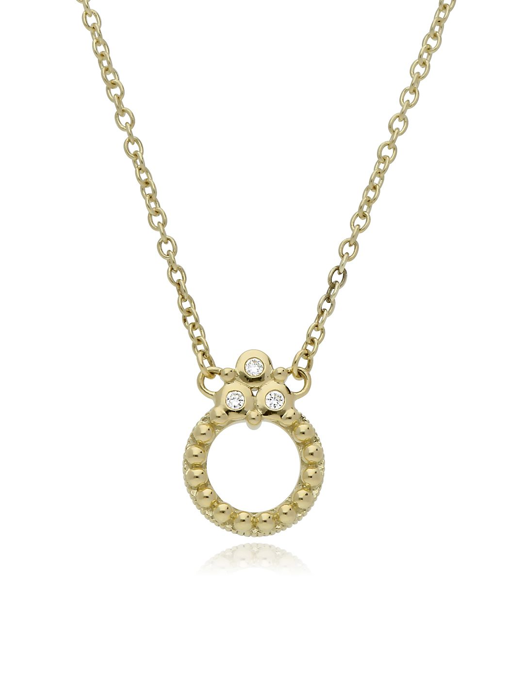 La Petite 14K Gold & Diamond Necklace