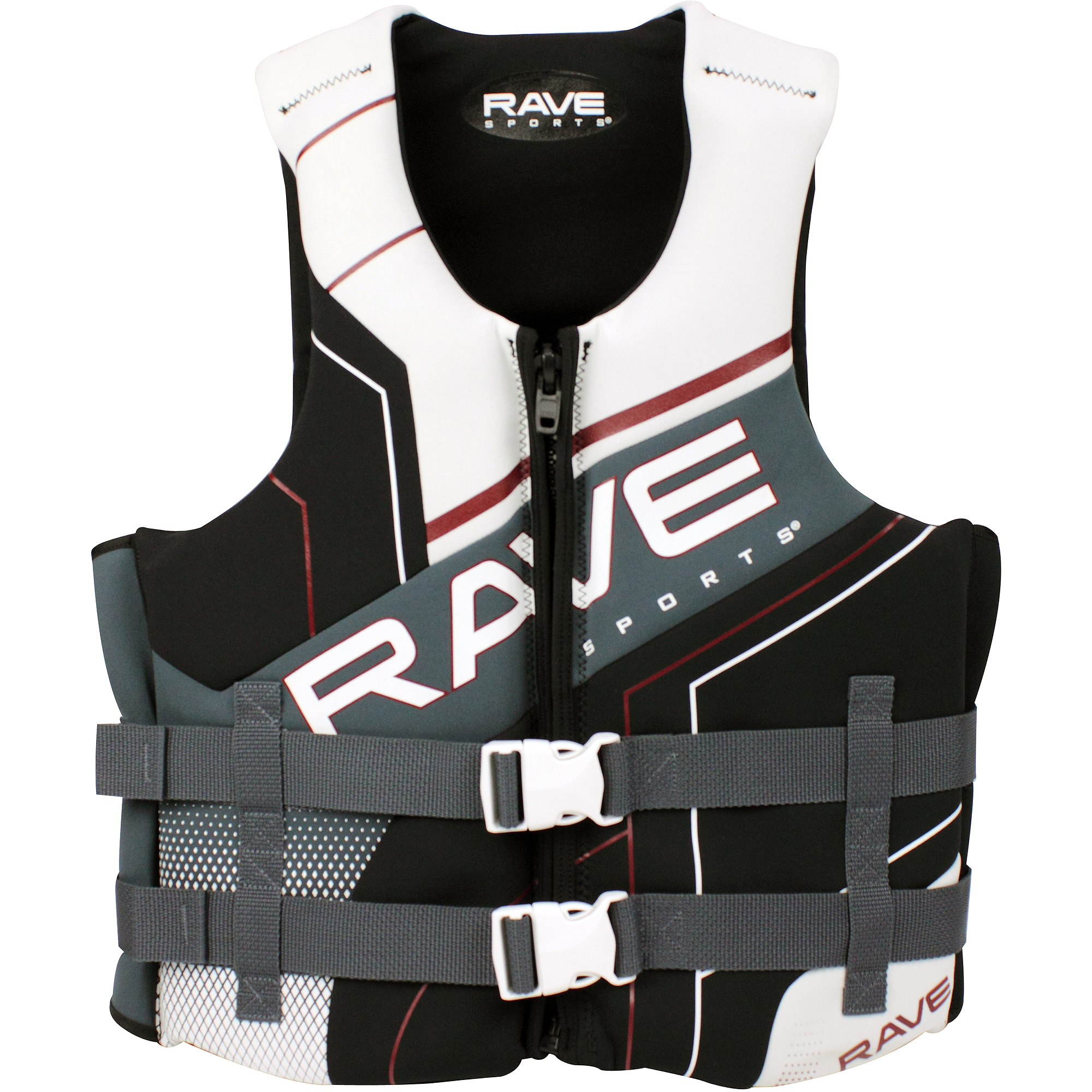 Rave Sports Adult Dual Neo Life Vest by Rave Sports
