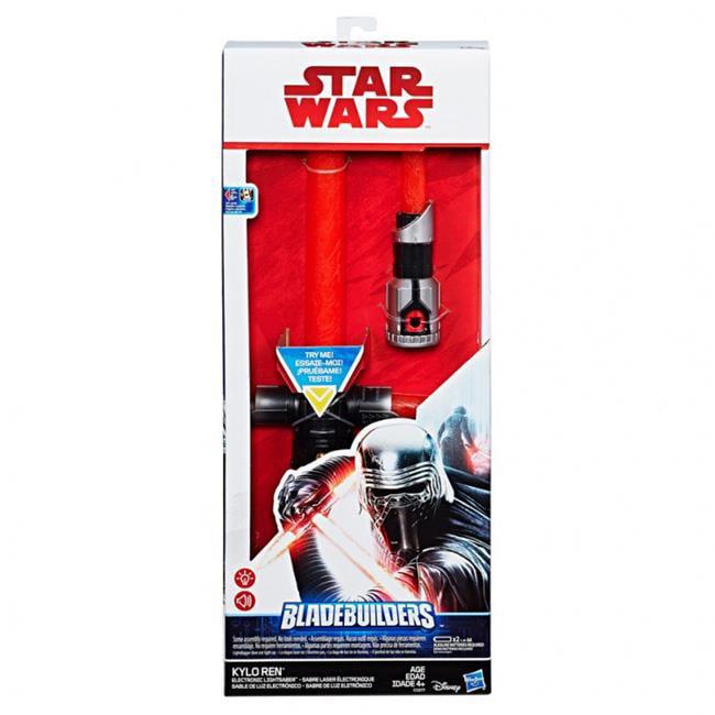 Hasbro HSBC1577 SW E8 Kylo Ren Electronic Lightsaber Pack of 4 by Hasbro