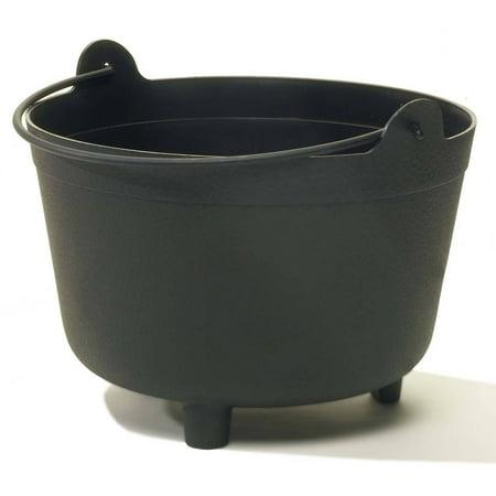 """Novelty 48128 12"""" Black Antique Kettle"""