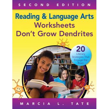 - Reading and Language Arts Worksheets Don't Grow Dendrites : 20 Literacy Strategies That Engage the Brain
