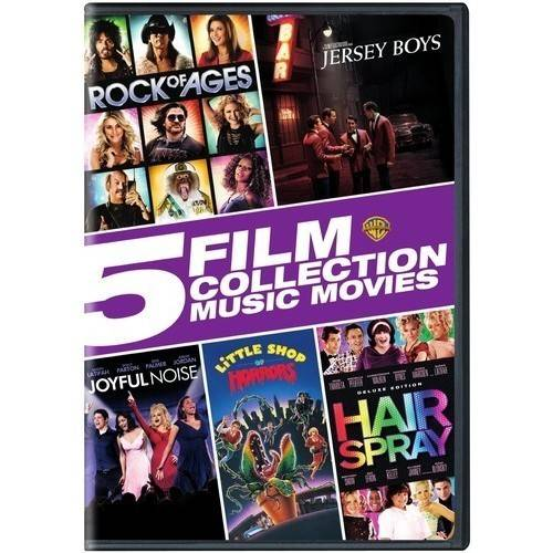 5 Film Collection: Music Movies Collection by WARNER HOME VIDEO