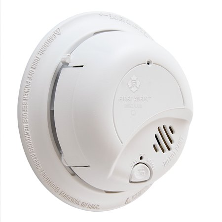 BRK Brands, Inc 9120B Detector Smoke 120V Ac (120 Volt Smoke Detector With Battery Backup)