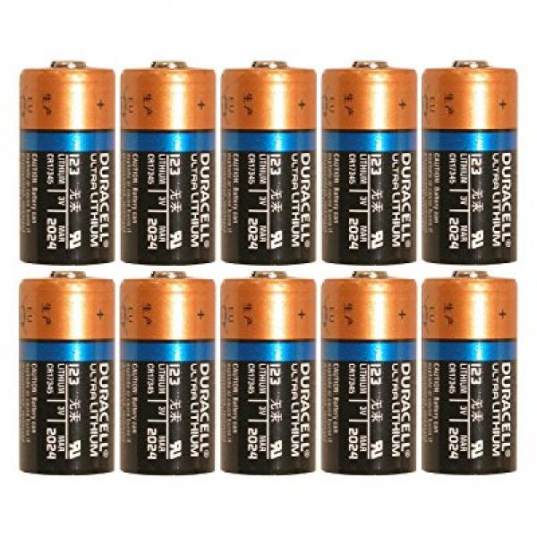 Duracell Dl123 Ultra Lithium Photo 10 Battery Walmartcom