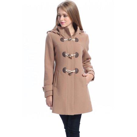 f6ae7405d BGSD Womens Daisy Wool Blend Toggle Coat (Regular & Plus Size)