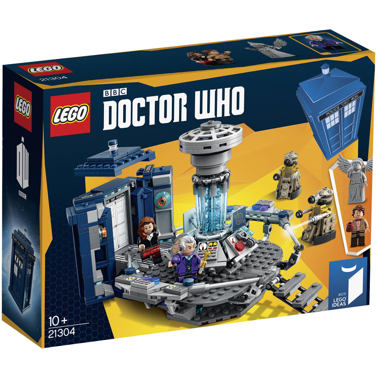 LEGO Doctor Who TARDIS Set 21304  sc 1 st  Walmart & LEGO Doctor Who TARDIS Set 21304 - Walmart.com