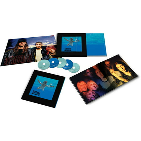 Nevermind [Super Deluxe Box Set] [4CD/1DVD] (CD) (Includes DVD)