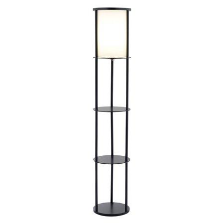 (Adesso Stewart Shelf Floor Lamp)
