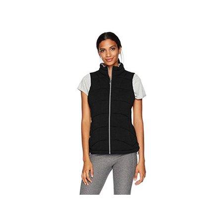 Marc New York Performance Women's Knit Vest, Black, L, Black, Size Large Marc New York Black Jacket
