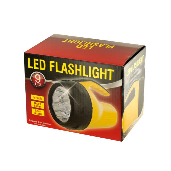 Bulk Buys Portable LED Flashlight, Case of 1