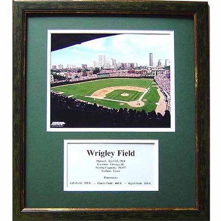 MLB 11x14 Deluxe Photo Frame, Wrigley (Wrigley Field Framed Photo)