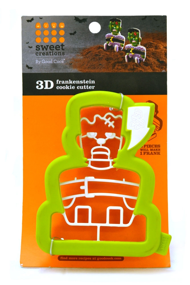 3D Frankenstein Cookie Cutter by COMPANY NOT AVAILABLE