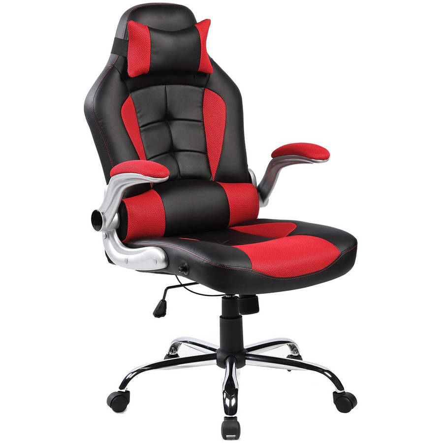 Merax Ergonomic High Back Racing Style Office Chair For Reclining And  Napping