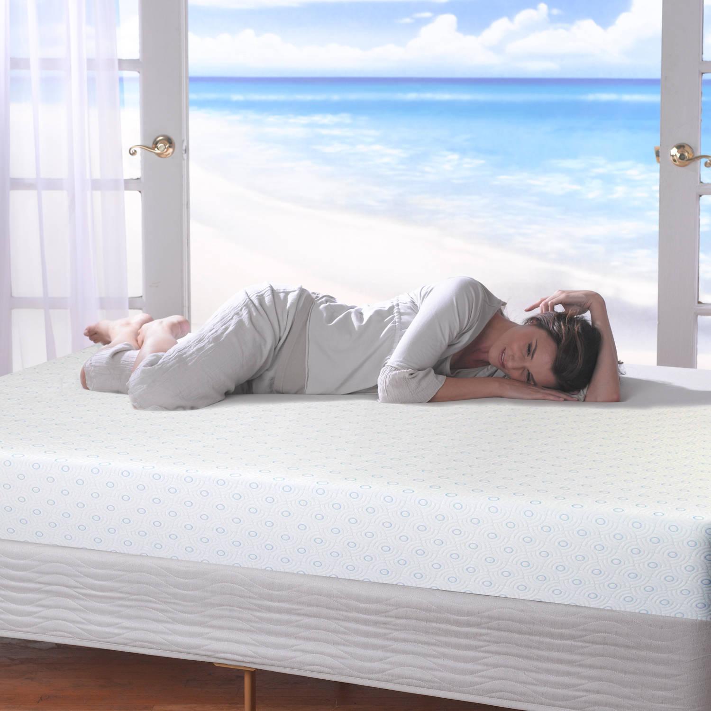 """Gel - Spa Sensations 8"""" MyGel Memory Foam Mattress, Multiple Sizes"""
