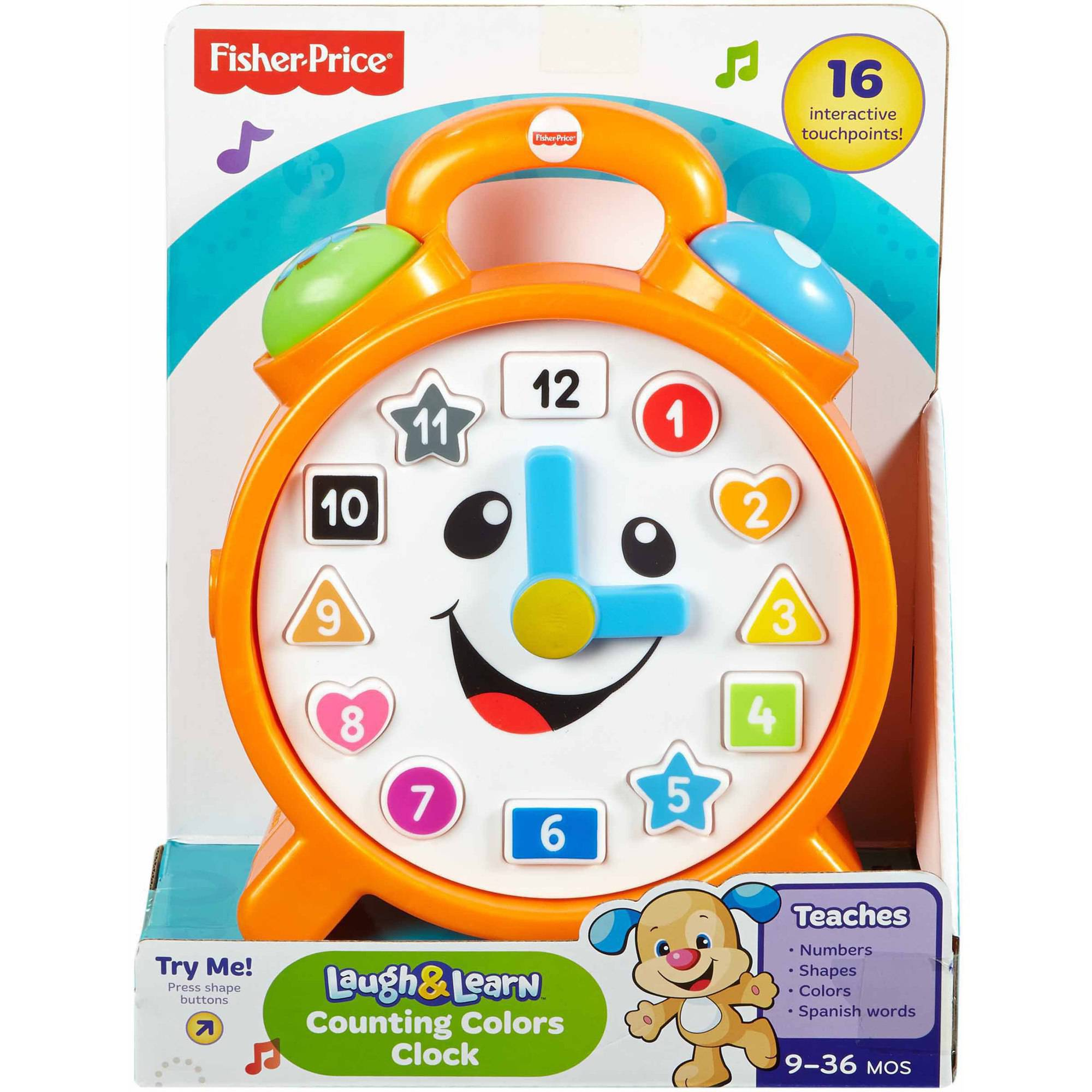 Worksheet Learning Clocks Online fisher price laugh learn counting colors clock walmart com clock