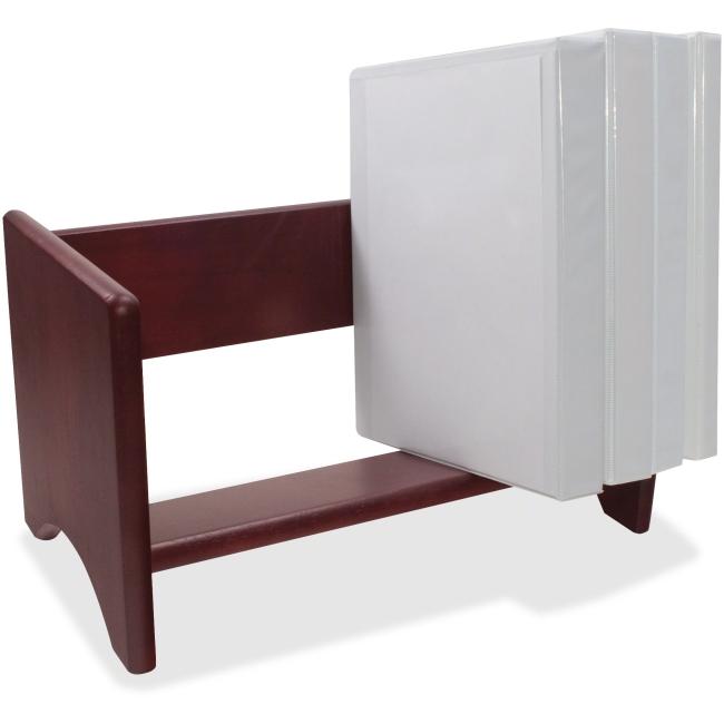 "Carver Wood Binder Rack - Desktop - 10"" Height X 17"" Widt..."