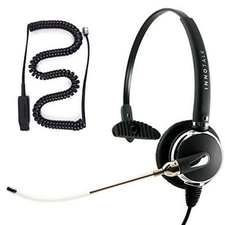 a96960061d7 Avaya IP 1608, 1616, 9601, 9608, 9610, 9611, 9611G Voice Tube Microphone  Monaural Phone Headset with Jabra QD for Customer service - Walmart.com