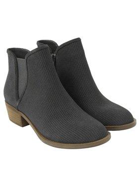 Kensie Ladies' Gerona Short Suede Ankle Women's Boots