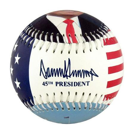 Donald Trump 45th President Souvenir Baseball
