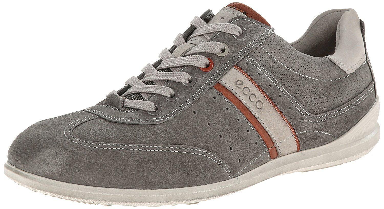 ECCO Men's Chander Retro Sneaker,Warm Grey,47 EU 13-13.5 M US by Ecco