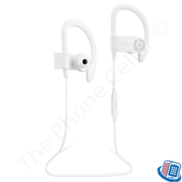 Refurbished Beats By Dr Dre Powerbeats 3 Wireless Active White Bluetooth Ear Hook Headphones Walmart Com Walmart Com