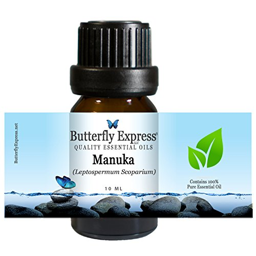 Manuka Essential Oil 10ml - 100% Pure - by Butterfly Express