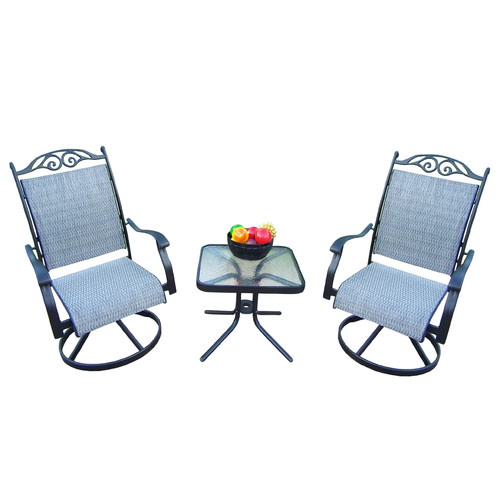 August Grove Basile 3 Piece Dining Set