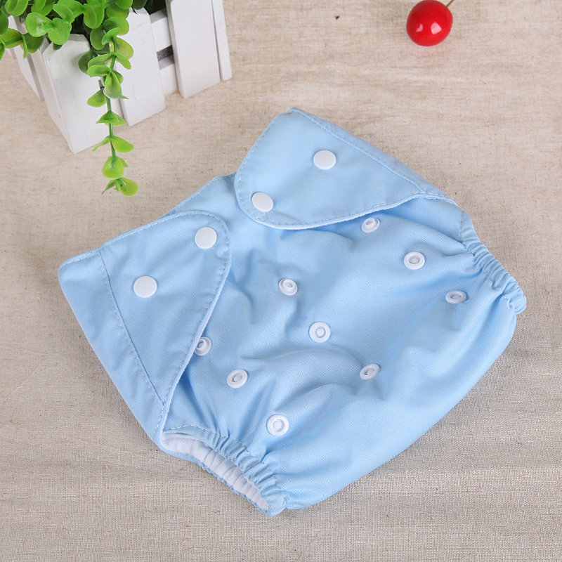 0-3Y Baby Diapers Washable Reusable Cotton Nappies Training Pant Cloth Diaper for Baby Girls and Boys