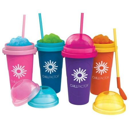 1PC Slush Maker Compact Frozen Drink Freezer Core Slushy BPA-Free Beverage Mixer Frozen Slush Drink