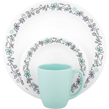 Corelle Livingware Day Dream 16 Piece Dinnerware Set