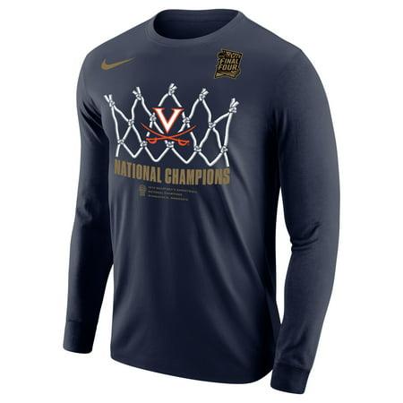 Virginia Cavaliers Nike 2019 NCAA Men's Basketball National Champions Locker Room Long Sleeve T-Shirt -