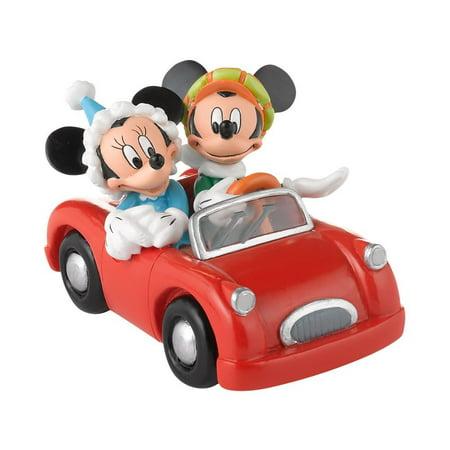Department 56 Disney Village Mickey and Minnie's Village Accessory, 2.5-Inch