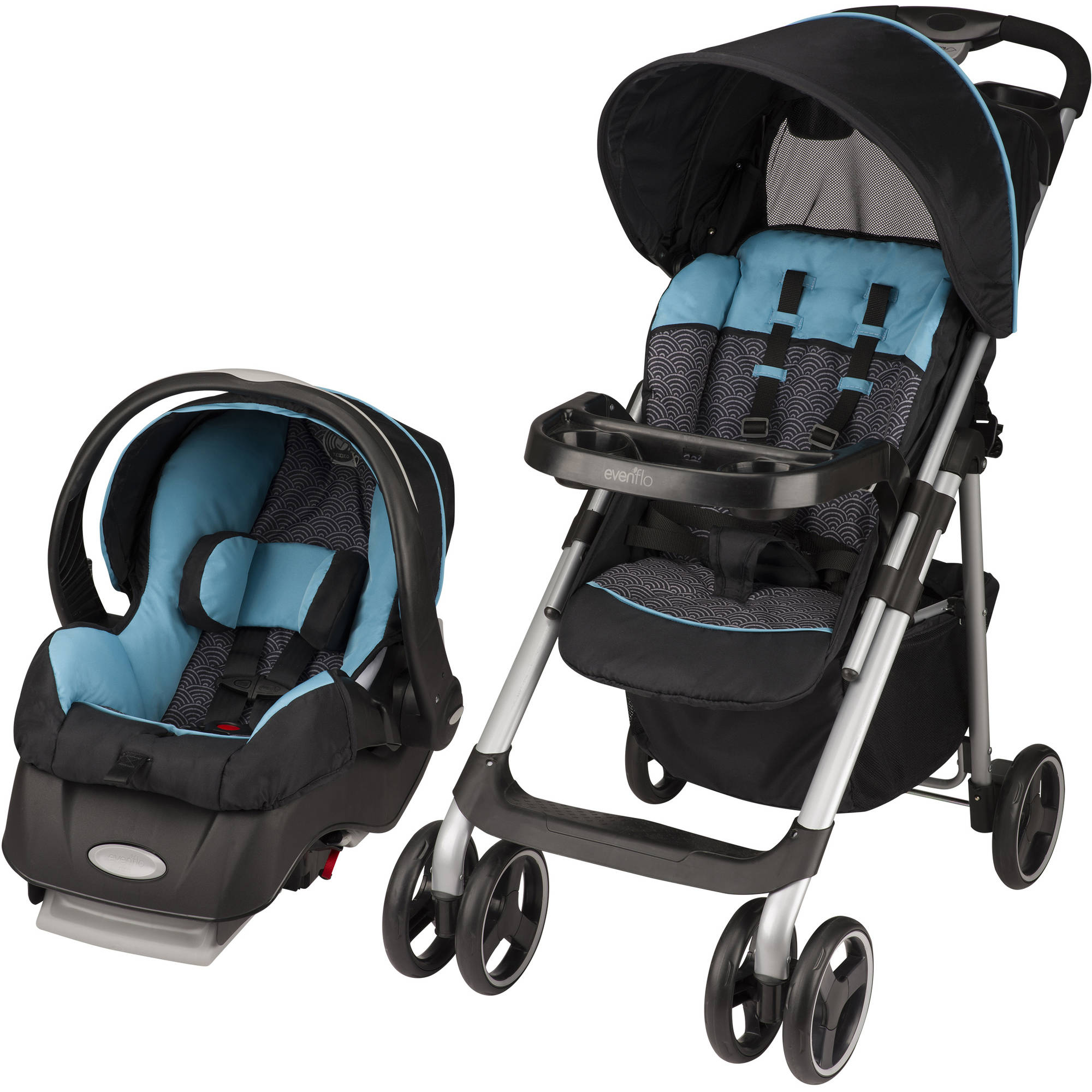 Evenflo Vive Sport Travel System, Koi
