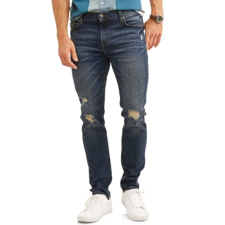 Men's Skinny Fit Jean (Mens Skinny Jeans Dark Denim)