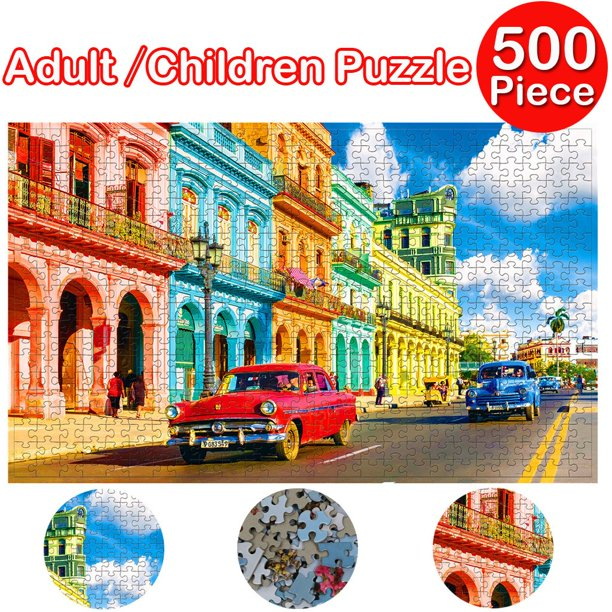 【JDkdaygc】Adults Puzzles 500 Piece Large Puzzle Game Interesting Toys Personalized Gift