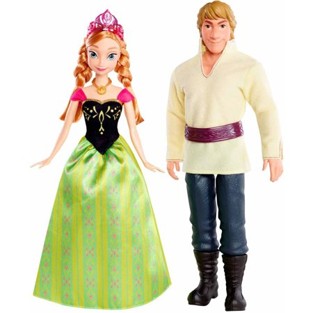 Disney Frozen Anna and Kristoff Doll (2-Pack) - Anna Crown Frozen