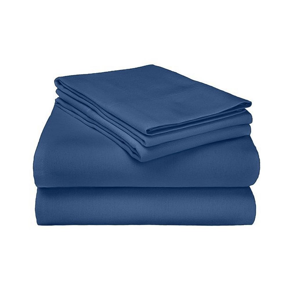 Flannel Sheet & Pillowcase Set | 100% Cotton | Deep Pocke...
